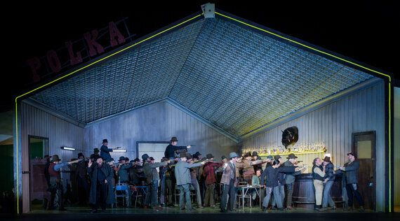 Puccini's Less Known Western Opera Opens at the