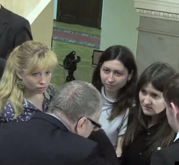 Russian Politician Vladimir Zhirinovsky Orders Aides To 'Violently Rape' Pregnant Reporter Stella