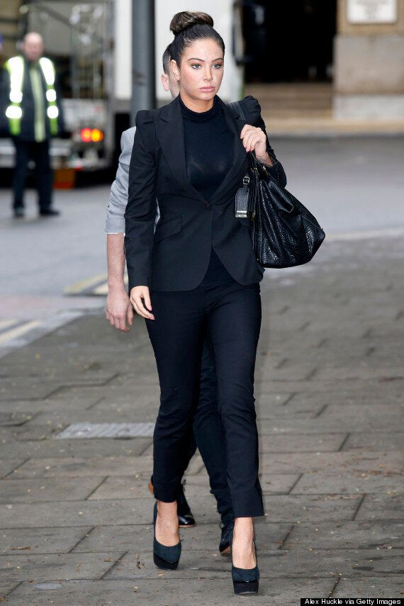 Tulisa Contostavlos Appears In Court Over Drug Charges