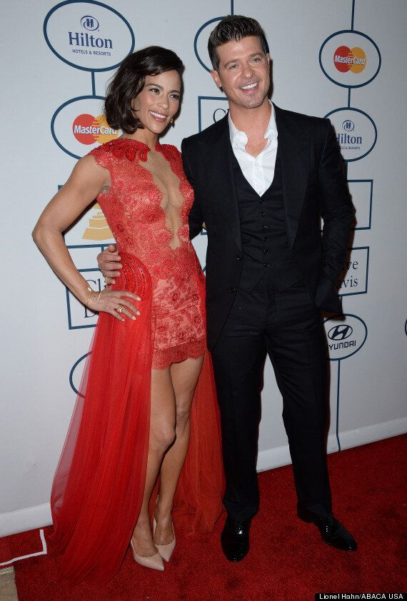 Robin Thicke's Wife Paula Patton Files For Divorce Months After Singer's 'Paula' Album And Vicodin