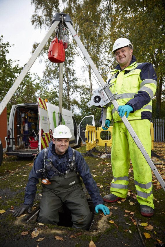 'Watermen: A Dirty Business' - Behind The Scenes With Chris And Mark Of United Utilities