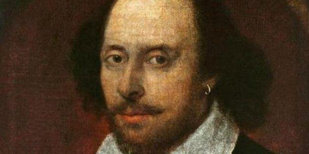 It's William Shakespeare's 450th Birthday