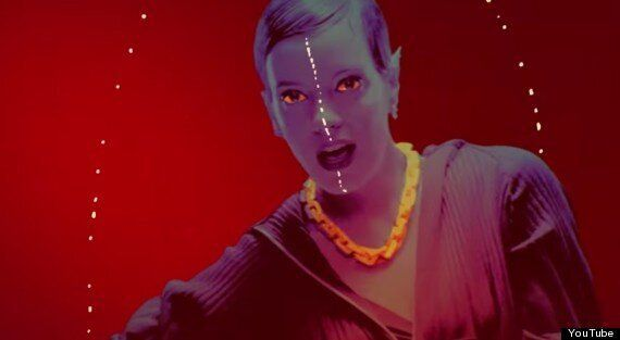 Lily Allen Unveils 'Sheezus' Video: Song References Lady Gaga, Rihanna... And Her Period