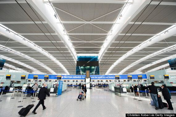 Ebola Screening For Travellers Arriving In The UK Through Heathrow And