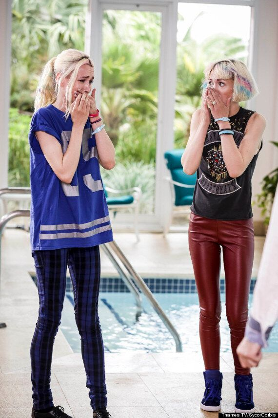 'X Factor' Finalists Blonde Electra: 'Our Dad Started His Own Cult... He Thinks We're Going To