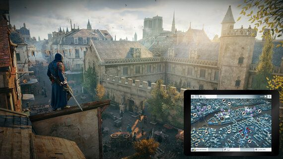 Learning About the Assassin's Creed Unity Companion App With Andree-Anne