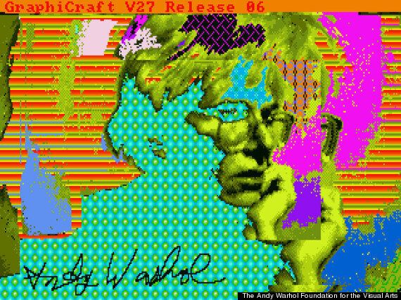 Andy Warhol Amiga Floppy Disk Artworks Discovered After 30 Years In Museum