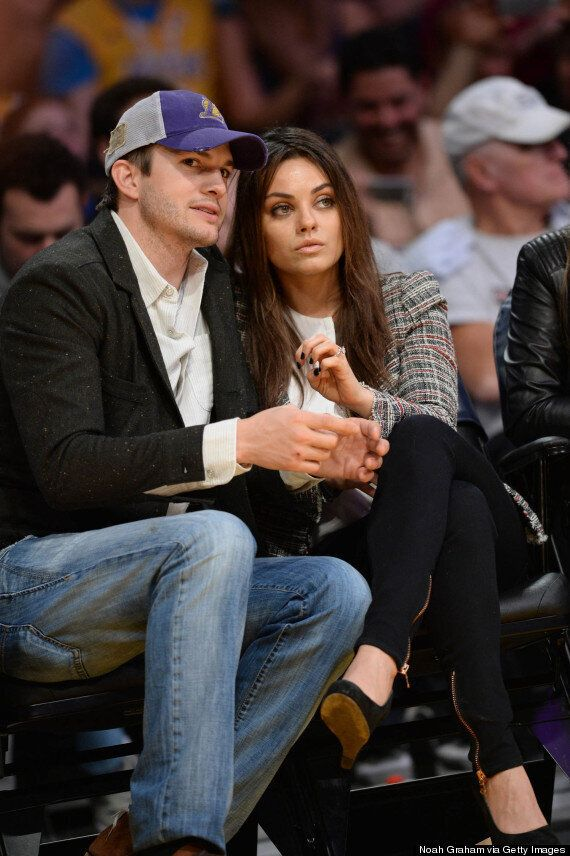 Mila Kunis Pregnant? Star Shows Off 'Baby Bump' During Day Out With Ashton Kutcher