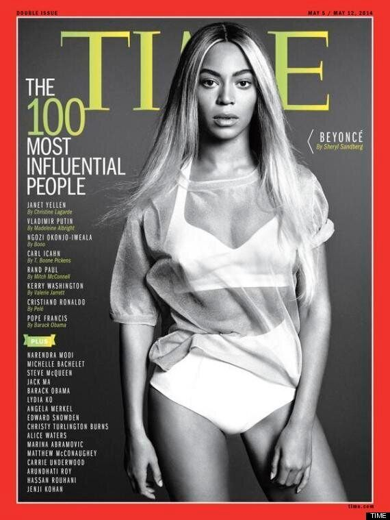 Beyoncé Wows On The Cover Of Time's 100 Most Influential People 2014 Issue