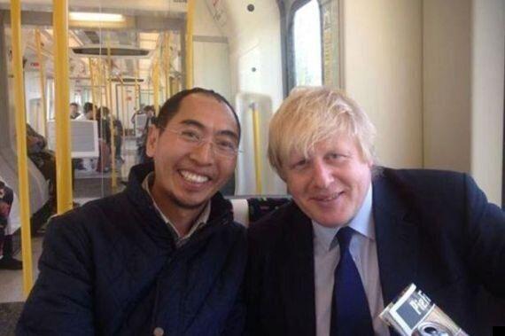Boris Johnson Selfie Causes Tibetan Monk To Lose Life's Work After Leaving Laptop On The