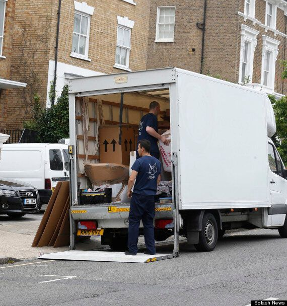 Gwyneth Paltrow And Chris Martin Split: Removal Van Spotted At Couple's London Home