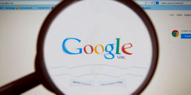 File photo dated 10/12/13 of the Google logo as the technology giant has purchased a company which manufactures...