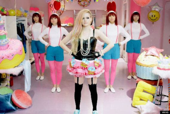 Japanese Fans React To Avril Lavigne's 'Hello Kitty' Music