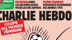 Una vagina y un balón: críticas a 'Charlie Hebdo' por su portada sobre el Mundial de fútbol