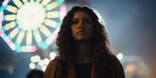 Zendaya plays a drug-addicted teen in HBO's new teen drama