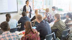 Du secours pour les profs nerveux d'aborder l'éducation à la