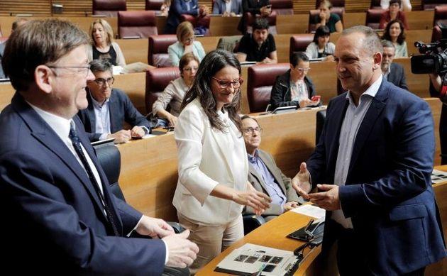 Ximo Puig, reelegido presidente de la Generalitat