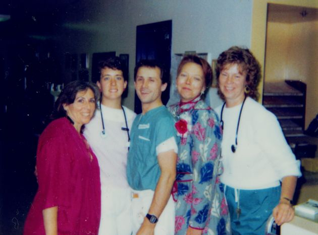 A group of nurses featured in the documentary