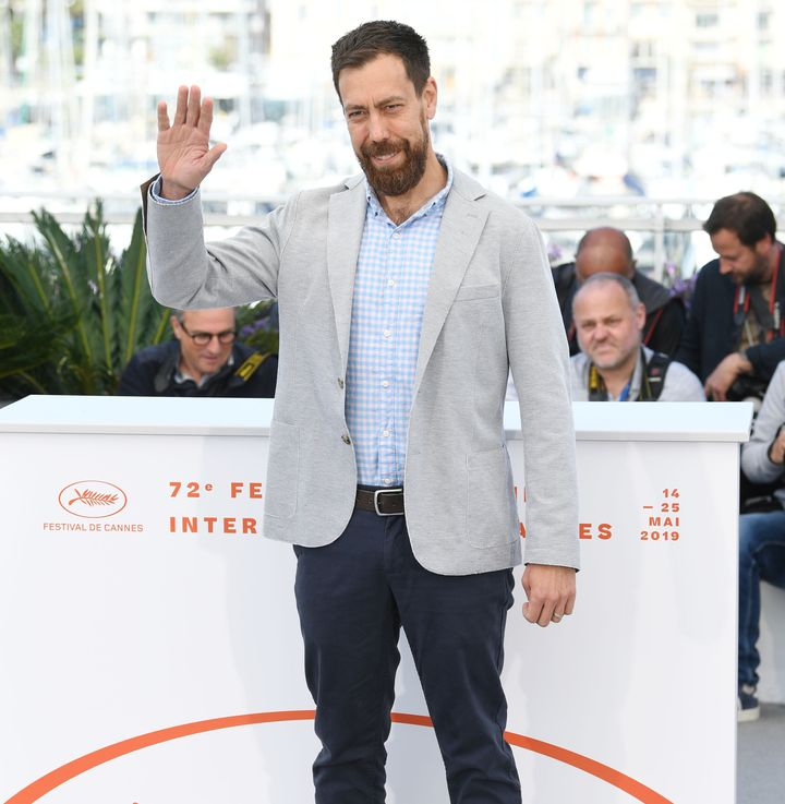 Dan Krauss at the Cannes Film Festival in May 2019.