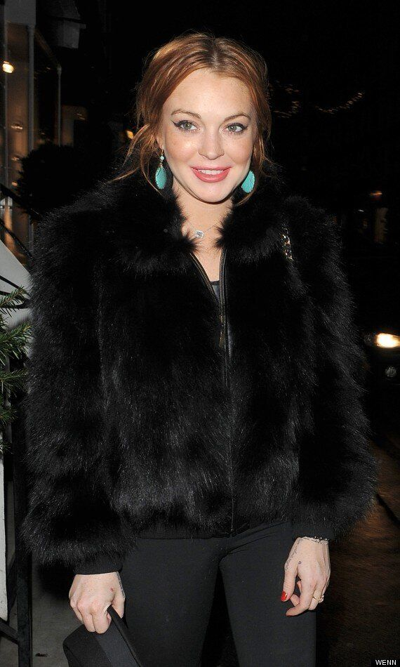 Lindsay Lohan Dines Out In London With On/Off Boyfriend Josh Chunn Ahead Of Rumoured 'Celeb Big Brother'