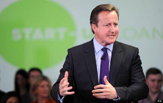 David Cameron Wants Young Entrepreneurs To 'Create The Next