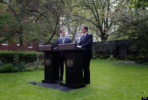 Coalition Government Is 'Steadfast And United' Say Cameron And