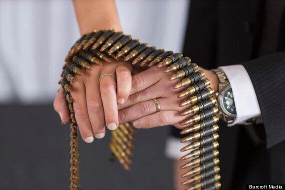 Gun-Themed Weddings In Las Vegas Continue To Boom In Wake Of Sandy Hook Shooting