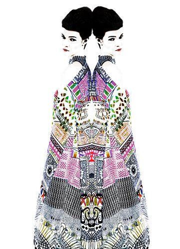 Wearable Art: Mary Katrantzou and Erik Madigan Heck For