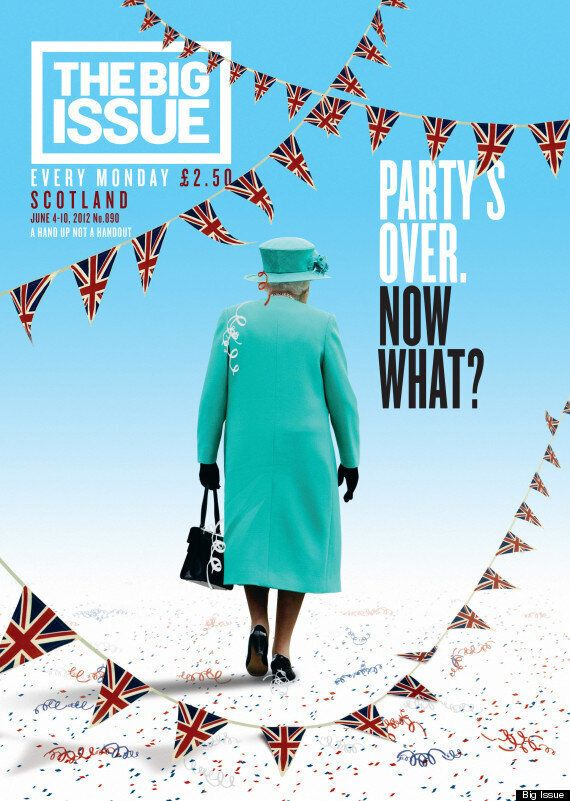 The Big Issue Celebrates 21 Years Of Iconic