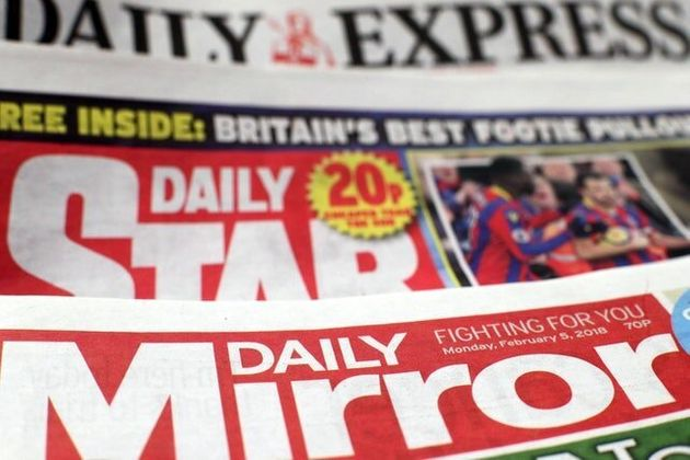 Trinity Mirror Strikes £126.7 Million Deal To Buy Daily Express And Daily