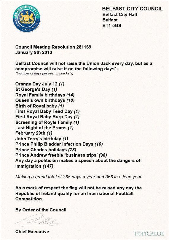 Union Flag Row: Belfast Council Announces Surprise Compromise