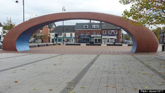 Jo Fairfax's 'Civic Heart Arch' To Be Demolished By Durham County Council To Save Maintenance