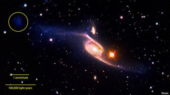 NGC 6872: Largest Spiral Galaxy Discovered 'By