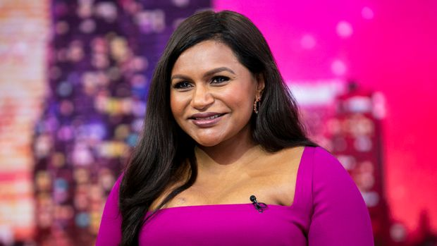 TODAY -- Pictured: Mindy Kaling on Thursday, June 6, 2019 -- (Photo by: Zach Pagano/NBC/NBCU Photo Bank via Getty Images)