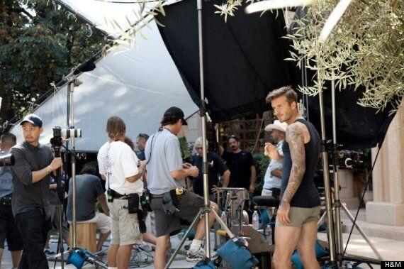David Beckham Underwear: Becks Strips For Guy Ritchie-Directed H&M Ad Campaign