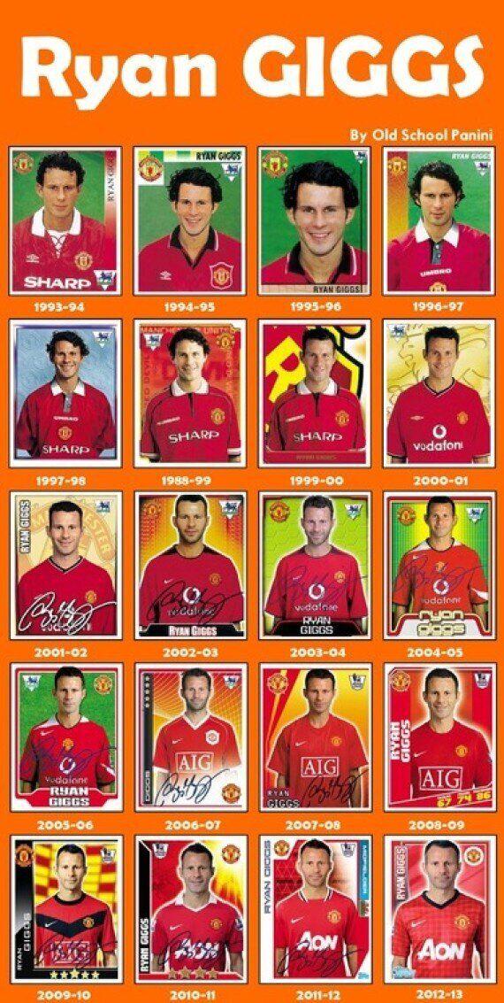 Ryan Giggs' Manchester United Sticker