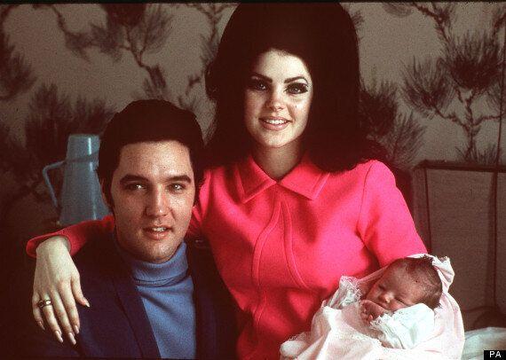 Lisa Marie Presley, Elvis's Daughter Serving Fish And Chips In A Mobile Van In East Sussex