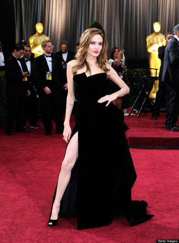 Golden Globes 2013: Eva Longoria Does 'An Angelina Jolie' On Red Carpet
