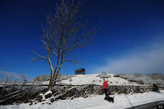 UK Weather: Snow Could Fall Across Most Of Britain By Weekend As Freezing Temperatures