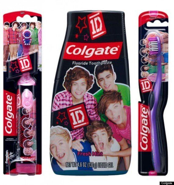 One Direction Colgate Range: Boyband Launch Their Own Toothbrushes And