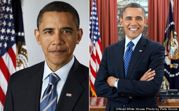 White House Publishes Second Official Presidential Portrait Of Barack Obama