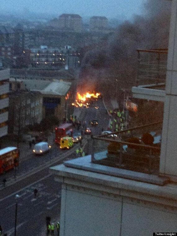 Vauxhall Helicopter Crash Pilot Pete Barnes 'Was Diverted', Inquest
