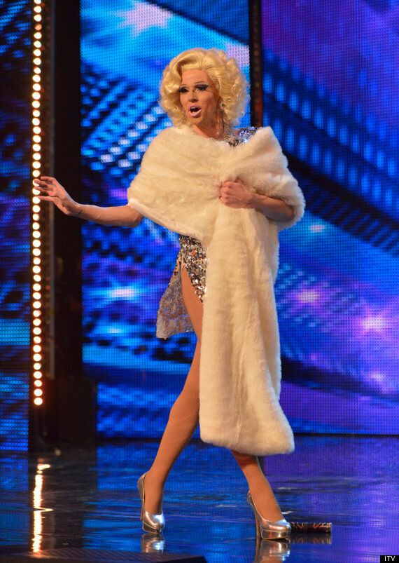 'Britain's Got Talent': Aaron Johns, Aka Vicki Vivacious, Hopes To Be The First Drag Star Through To
