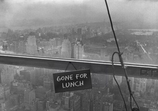 Lunch Atop a Skyscraper - Variations on a