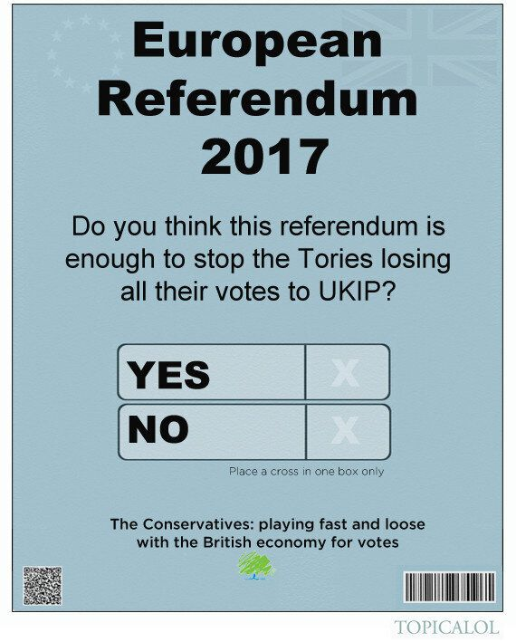Three EU Referendum Questions The Tories Are