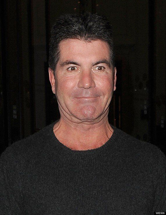 Simon Cowell Keeps His Chins Up As 'Britain's Got Talent' Judge David Walliams Accuses Him Of Having