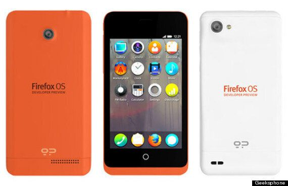 Mozilla Shows Off Firefox OS Handsets 'Keon' And