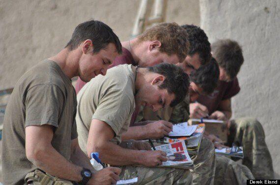 Derek Eland Installs Afghanistan 'Diary Rooms' To Captures Soldiers'