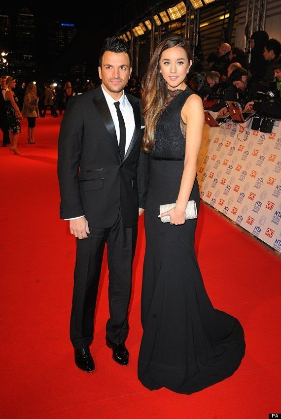 NTAs 2013: Peter Andre Returns To Red Carpet With Girlfriend Following Brother's