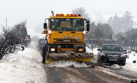 UK Weather: Snow Melt Prompts Warnings Of Floods And Ice